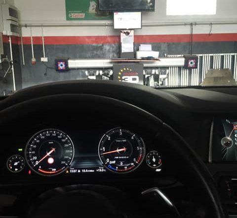 BMW M550d F10