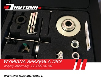podwójne sprzęgła w skrzyni DSG zestaw narzędzi