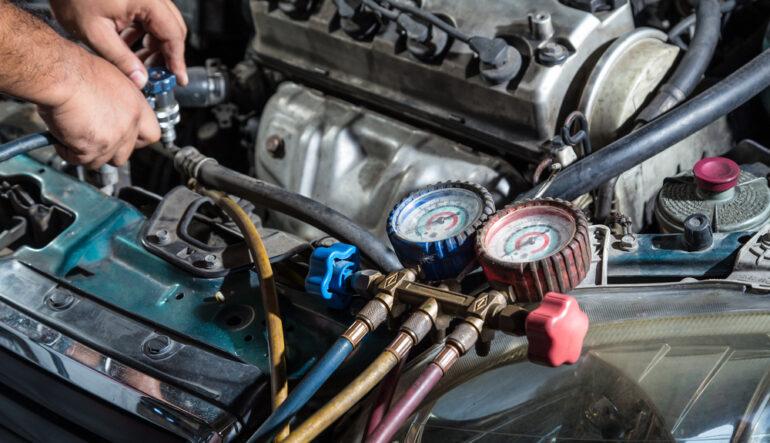 Klimatyzacja samochodowa - Serwis klimatyzacji, a naprawa klimatyzacji